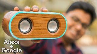 How I Made My Own Smart Speaker Google + Alexa - Under $30