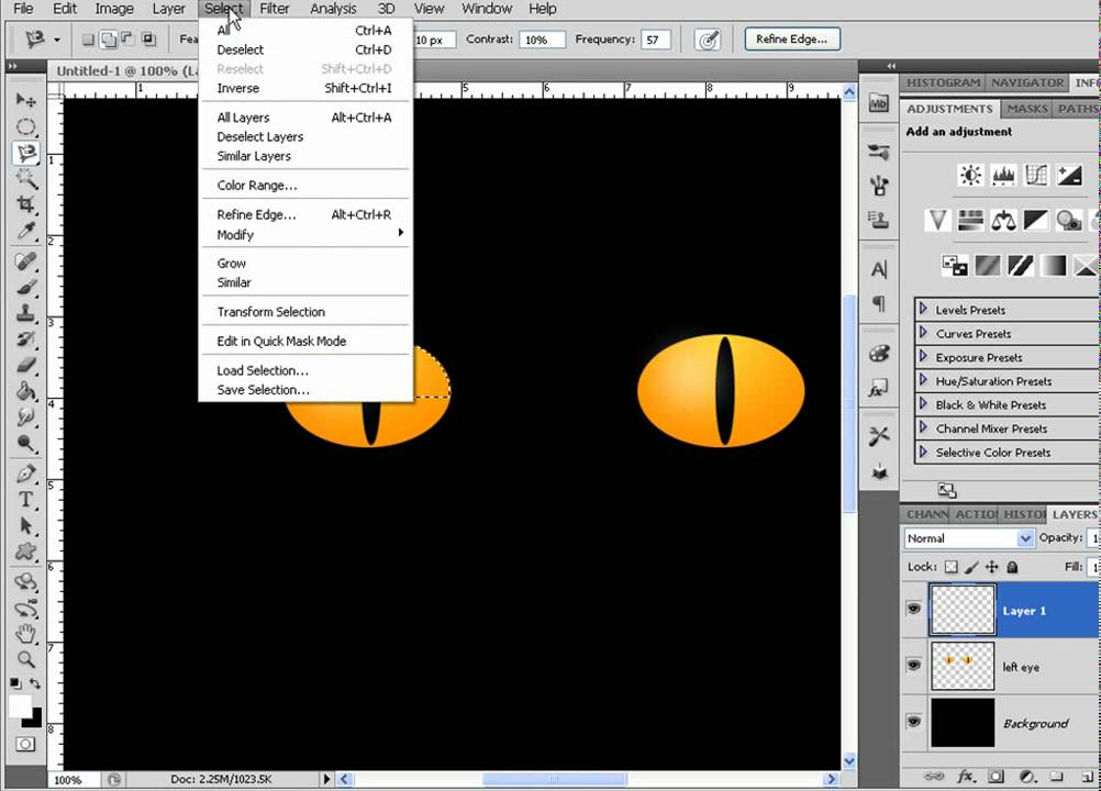 Photoshop Cat Eyes Cat Eyes Animation