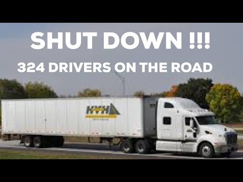 HVH TRANSPORTATION abruptly shuts down. 324 drivers still out on the road