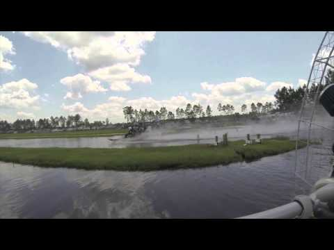 Unlimited Airboat jump Video