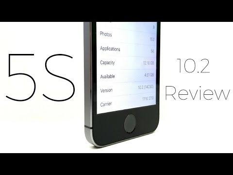 iPhone 5S iOS 10.2 Review