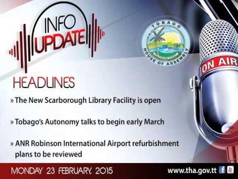 InfoUpdate - Monday 23 February, 2015