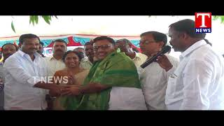MLA Ala Venkateshwar reddy Distributes Rythu bandhu Cheque - Mahabubnagar  Telugu - netivaarthalu.com