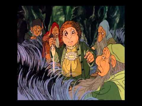 Bilbo saves the dwarves