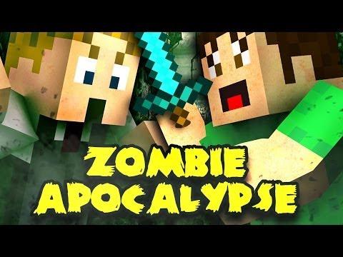 MINECRAFT: ZOMBIE APOCALYPSE Part 1   Toby & Tim