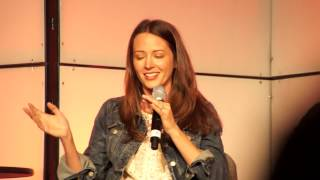 Amy Acker sharing a memory of Andy Hallett