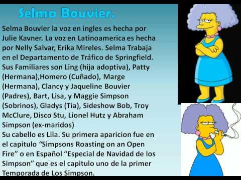 Descubriendo cada personaje - Patty, & Selma Bouvier
