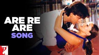 Are Re Are Song | Dil To Pagal Hai | Shah Rukh Khan | Madhuri Dixit | Lata Mangeshkar | Udit Narayan