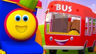 Bob The Train Cartoons For Children | +More Nursery Rhymes For Kids