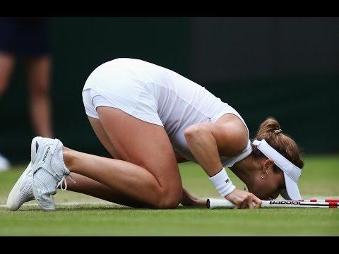 Ailze Cornet Upsets Serena Williams at Wimbledon 6/28/14