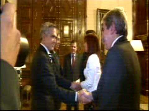26 Marzo 2015  La Presidenta audiencia a Jefe Gobierno Distrito Federal México