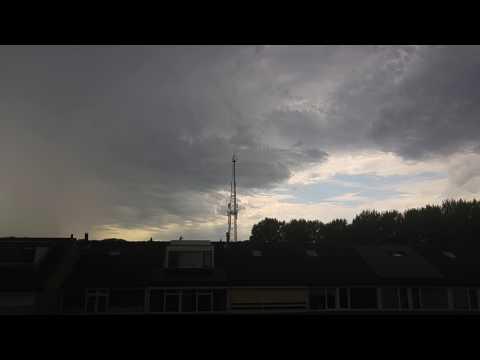 Onweer Oost-Souburg 06-07-2017