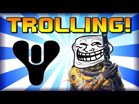 Destiny - Funny Moments - Trolling Montage! - Best Tactic In The Crucible: SITTING!