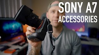 Sony A7R3 + A73 + A9 must have accessories