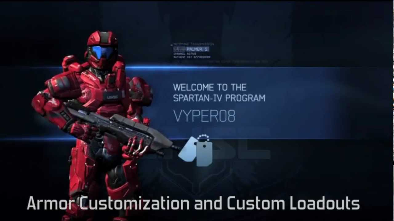 Custom Loadouts Halo 4 Halo 4 Armor Customization