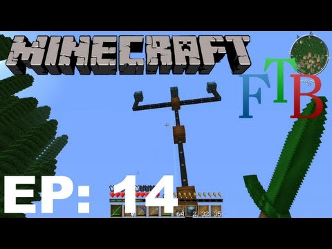 FTB Minecraft EP14 - Wind Power & Industrial Blast Furnace