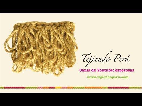 Crochet: cómo tejer el punto rulo o bucle