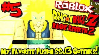 MY FAVORITE FUSION: SUPER SAIYAN 3 GOTENKS! | Roblox: Dragon Ball Rage Rebirth 2 - Episode 5