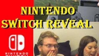 First Look At NINTENDO SWITCH REACTION