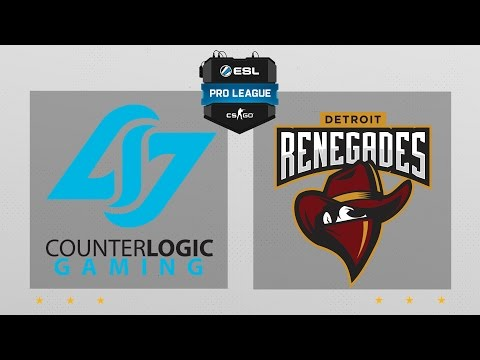 CS:GO - CLG vs. Renegades [Cbble] Map 1 - ESL Pro League Season 5 - NA Matchday 24