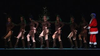 Cin City Burlesque - Here Comes Santa Claus (2016 Dec. Performance)