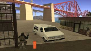 GTA SAN ANDREA-cj va a la guerra-5parte-LOQENDO(la invacion alienigena comiensa)