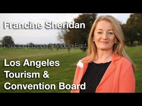 Leaders TV Interview, Francine Sheridan, Los Angeles Tourism & Convention Board