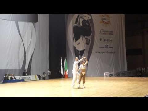 Jade Mandorino & Maurizio Mandorino - World Masters Rimini 2012