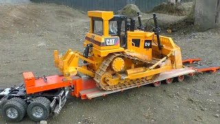 CATERPILLAR D9 l BIG 27kg RC MODEL D9 |  AMAZING RC MODELS! FANTASTIC RC TOYS