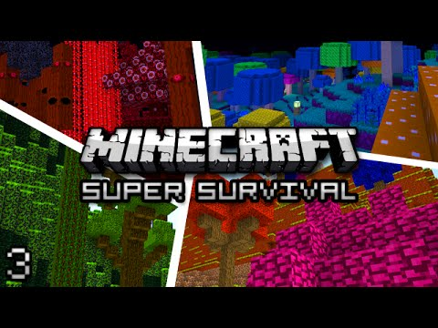 Minecraft: Super Modded Survival Ep. 3 - MYSTERIOUS PORTALS