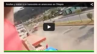 Detienen a funcionarios responsables de la muerte de transeunte en Chiapas por arrancones
