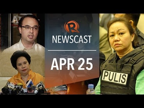 Rappler Newscast: Cayetano reacts, Miriam on Napoles, Virgin Australia plane
