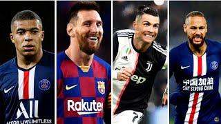Ronaldo Dance Monkey Vs Messi Tusa Vs Neymar Yummy vs Mbappe Roxanne