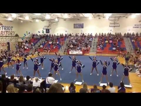 Potomac Falls High School Cheerleading Team- Sterling, Va- Park View Spiritfest Cheer Competition