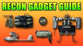 Recon Gadgets Guide: SUAV, T-UGS, Motion Sensor, C4, MAV (Battlefield 4 Gameplay/Commentary)