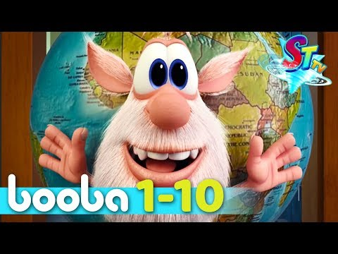 Booba - Full episodes collection (10-1) animated short - funny cartoon - Super ToonsTV thumbnail