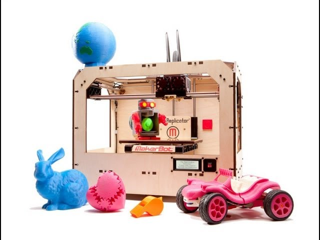 FAQs About the MakerBot Replicator 3D Printer