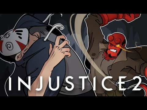 HELLBOY IS AWESOME!   Injustice 2 (vs H2O Delirious)