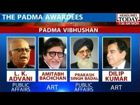 Pranab To Confer Padma Awards To 104 People