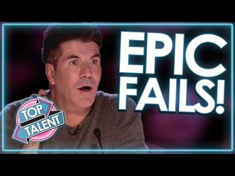 Download Auditions Gone WRONG! EPIC FAIL Compilation! | Top Talent Mp4 baru