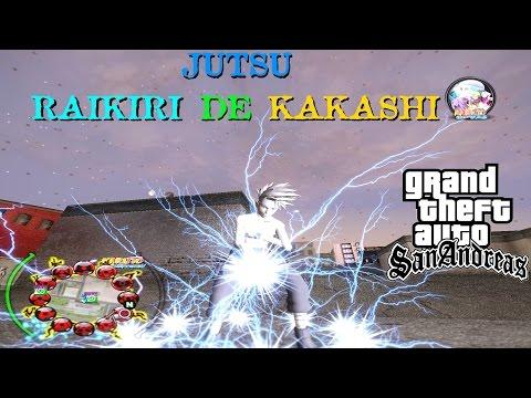 JUTSU RAIKIRI DE KAKASHI BY Ultimate Haikal Al-Ghifari .Versão Ivkyo Tanaka GTA SA FULL HD 1080p