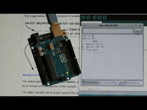 Arduino switch statement - Part 13 of the Arduino Programming Course