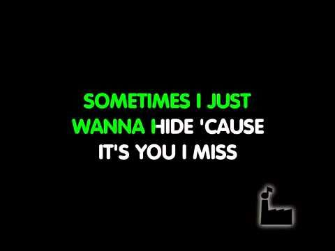 Hurt - Christina Aguilera Karaoke video