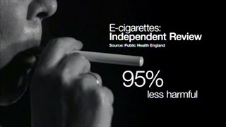 Public Health England: Electronic Cigarettes 95% LESS Harmful! Will Save Thousands Of Lives!