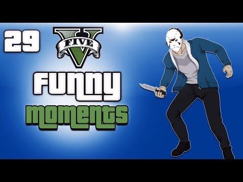 GTA 5 Online Funny Moments Ep. 29 (H2O Vs Friends)