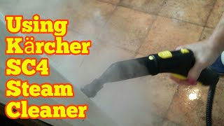 Amazing Kärcher SC4 Steam Cleaner | Cleaning A Dirty Kitchen  (Part 2)