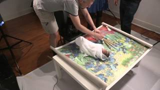 newborn photo session example - tips for creative new born baby photography posing guide