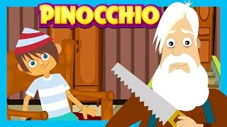 PINOCCHIO - Kids Story || Fairy Tales And Bedtime Stories for Kids || Animated Stories