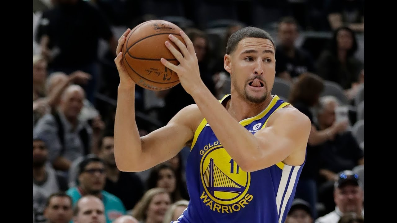 Klay Thompson is at the top of his game
