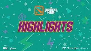 The Bucharest Minor  Highlights  EHOME vs OG